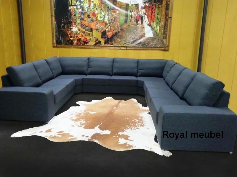 Hoekbankstel la nuova xl lounge hoek lounge bankstellen royal boxspring swiss bedden - Moderne hoek lounge ...