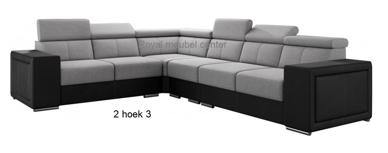 2 Hoek 2 Bank.Hoekbankstel Lina Hoek Lounge Bankstellen Royal Boxspring
