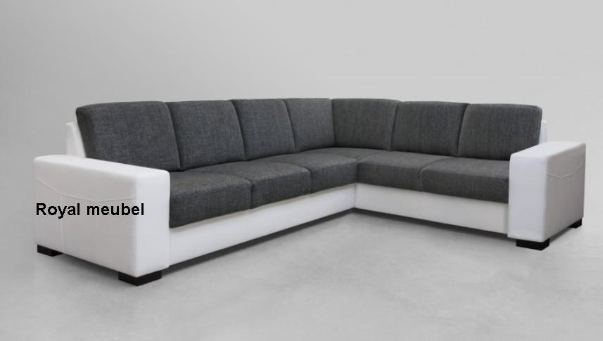 Hoekbankstel costa hoek lounge bankstellen royal boxspring swiss bedden - Moderne hoek lounge ...
