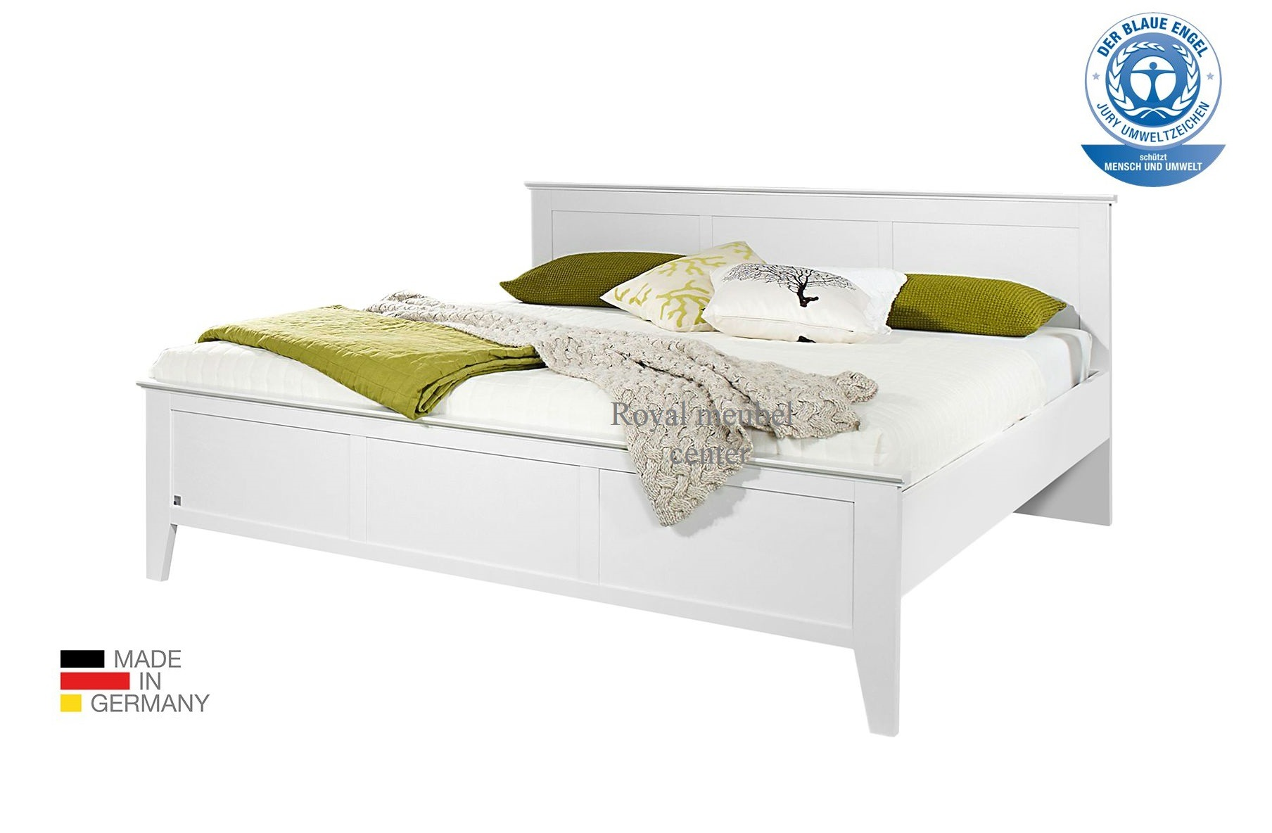 Wit Ledikant 2 Persoons.Ledikant Swiss 2 Persoons Bed Wit Boxer Bedden