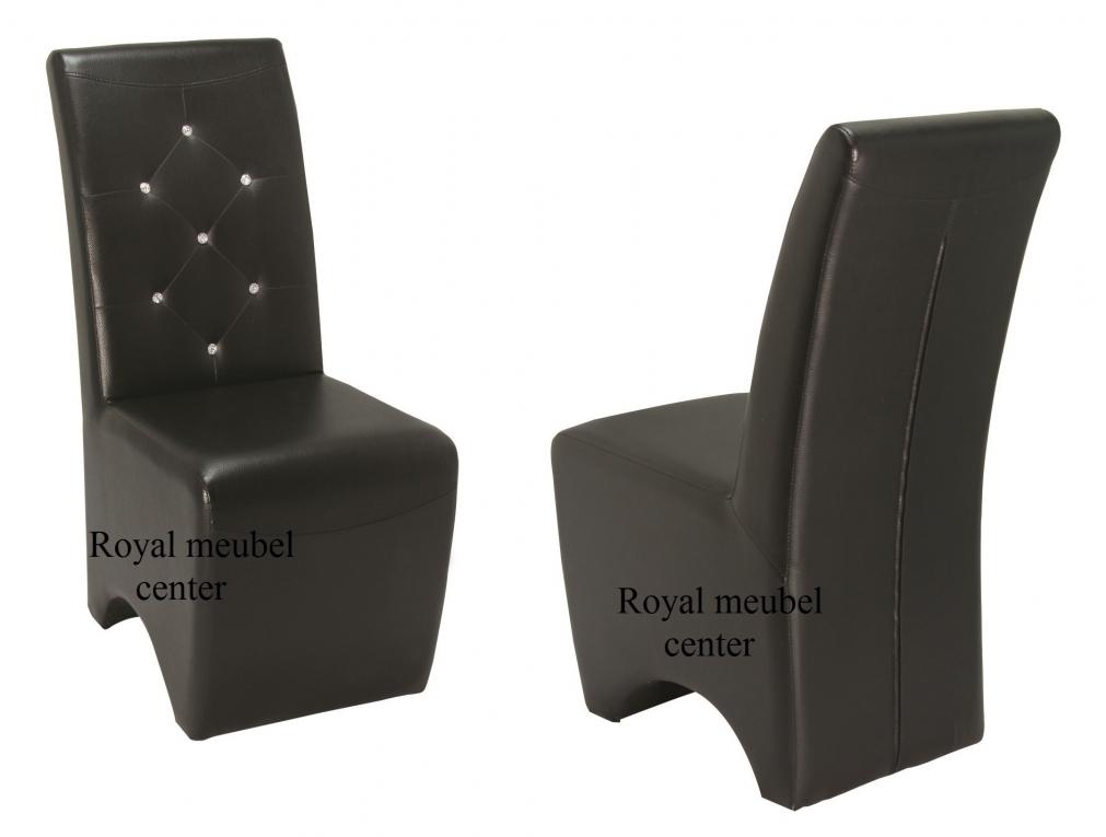 Eetkamer Stoel Mc Design 7011 met Swarovski steentjes - Eetkamer ...