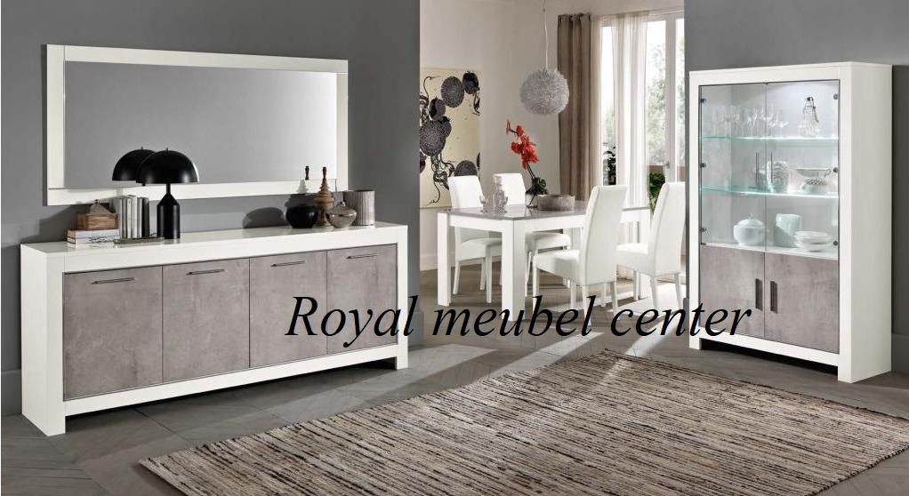 Marmer In Woonkamer : Vitrinekast mona hoogglans marmer wit vitrine & barkasten royal