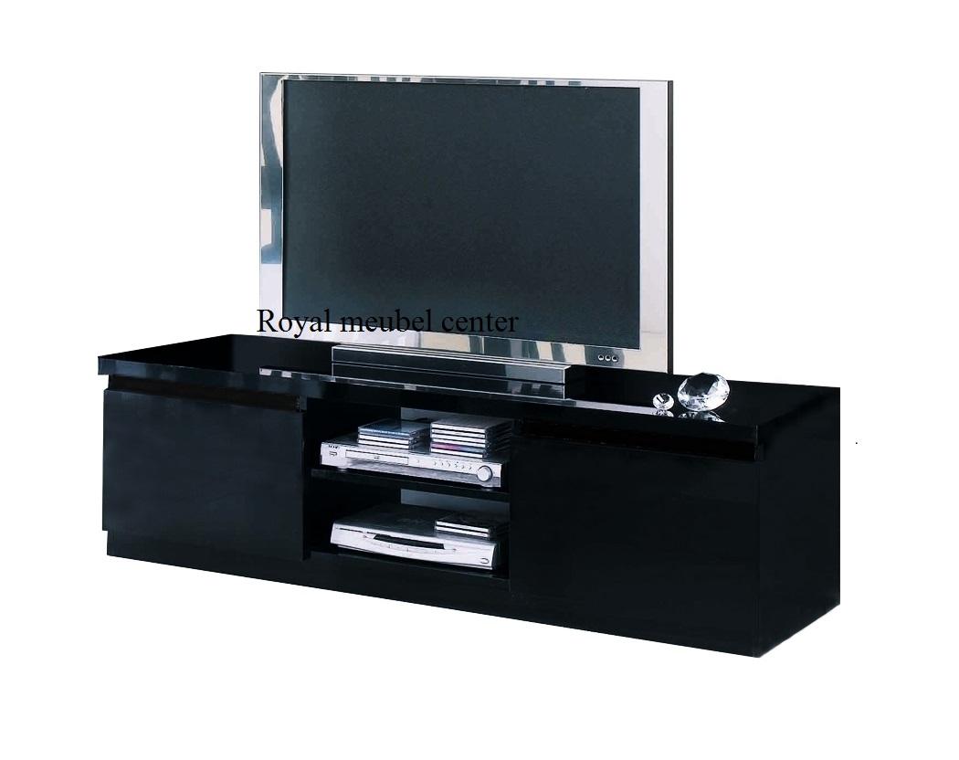 Bed Tv Meubel : Tv meubel forever hoogglans zwart tv plasma tafels royal