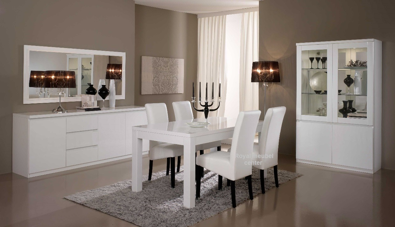 Woonkamer meubel Forever hoogglans wit - Complete Woonkamers set ...