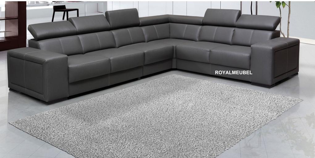Hoekbankstel sidney hoek lounge bankstellen royal boxspring swiss bedden - Moderne hoek lounge ...